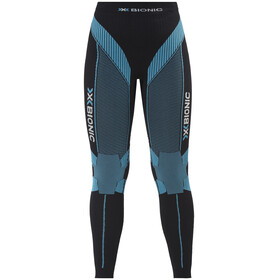 X-Bionic Running Effektor Power OW Long Pants Women Black/Turquoise